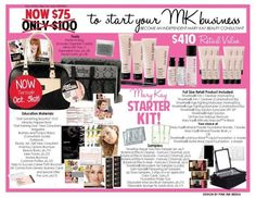 Join me in becoming a Mary Kay Independent Beauty Consultant! The lowest price ever for joining with the HUGE starter bag FULL of products to share with your new potential customers. Sign up, start your biz, call your family and friends, start earning money! It's fun, fast, and you succeed. Now that's why I LOVE my job!