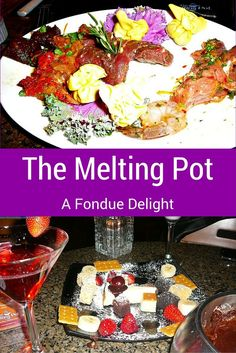 The Melting Pot Fondue Restaurant is one of my family's favorite destinations. I prefer the cheese fondue, one daughter chooses the entree, and the other daughter, the dessert. Perfect for the three of us for a special occasion or just a fun time together.