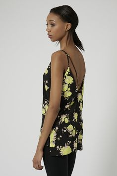 Floral Strap Back Cami - New In This Week - New In - Topshop