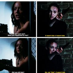 """""""It wasn't him"""" - Jemma and Daisy #AgentsOfSHIELD ((One of the best episodes in the series!))"""