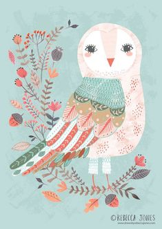 (via ©️️Rebecca Jones | Art: Birds | Pinterest)