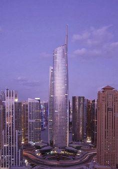 Skyscraper City- Dubai - Almas Tower - Supertall Skyscraper- Dubai