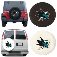Use the code PINFIVE to receive an additional 5% discount off the price of theSan Jose Sharks NHL Exact Fit Tire Cover