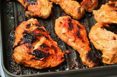 {S} Tandoori Chicken looks like another delicious way to add turmeric and ginger to our diet. Yum! Must try.  Oh -- sub Greek for regular yogurt for THM.