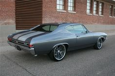 1968 chevelle colors | Barrett-Jackson Lot #1322.2 - 1968 CHEVROLET CHEVELLE CUSTOM COUPE