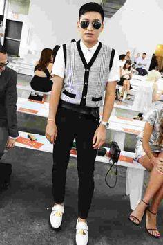 В первом ряду: знаменитости и редакторы моды на Неделе моды в Нью-Йорке