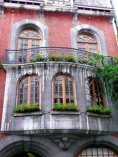 Charleroi, Belgium. Art Nouveau