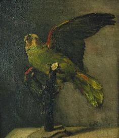 Vincent van Gogh - Der grüne Papagei