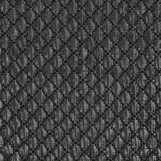 Metallic Silver/Black Quilted Brocade