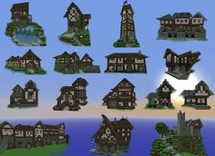 minecraft buildings - Google Search