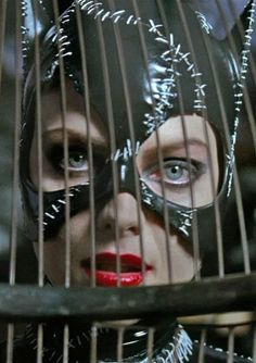 Michelle Pfeiffer as Catwoman/Selina Kyle in Batman Returns, 1992.