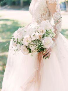 Radonich Ranch Blush and white Bridal Bouquet White Wedding Flowers, White Bridal, Bridal Flowers, Floral Wedding, Bling Wedding, Wedding Dress, Bride Bouquets, Bridesmaid Bouquet, Brooch Bouquets