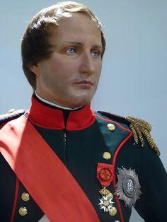 Napoleon Bonaparte Emperor | French Emperor Napoleon Bonaparte at Madame Tussaud's Wax Museum in ...