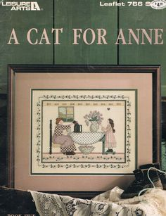 CCS  LEISURE ARTS 766  A Cat For Anne by BusyBeaverBoutique