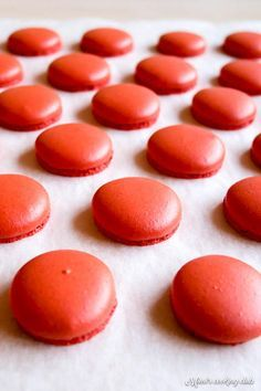 Macarons, Macaron Thermomix, Cookie Recipes, Dessert Recipes, French Patisserie, French Macaron, Macaroon Recipes, Biscuit Cookies, Food And Drink