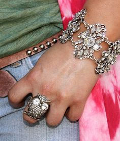 Gypsy lace bracelet -- love this!  Available from http://www.gypsyville.com/store/store.asp?nProductId=25366  $98.00