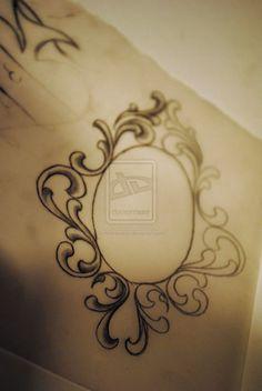 oval filigree frame tattoo. Things To Wear On Pinterest   Henna Rose Tattoos And Filigree Tattoo Thin Tattoo, Hennas Oval Frame
