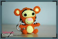 Tigger - Winnie de Pooh - Patrón gratis - Amigurumi