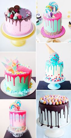 7 Birthday Cake Ideas Inspired by Fantasy Fictions (Geeky but Delicious Birthday is a special day for everyone, and a perfect cake will seal the deal. Fantasy fictions create some of the best birthday cake ideas. Food Cakes, Cupcake Cakes, Lollipop Cake, Baby Cakes, Cake Cookies, Pretty Cakes, Cute Cakes, 7th Birthday Cakes, Happy Birthday