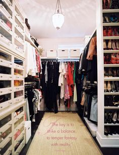 one gorgeous closet....