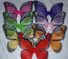 Children's Costume Monarch Butterfly Wings by ButterfliesnLadybugs, $5.00 http://www.etsy.com/listing/152855698/childrens-costume-monarch-butterfly?utm_source=google_medium=product_listing_promoted_campaign=supplies_low=CIGrl8vT_bcCFeHm7Aodz1UAkg
