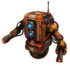 Promo Robot designs for Zombicide : Invader inspired form Claptrap of Borderland, Turret of Portal & Dalek of Dr. Star Wars Droids, Star Wars Rpg, Robot Concept Art, Robot Art, Star Wars Species, Cool Robots, Battle Droid, Star Wars Pictures, Robot Design