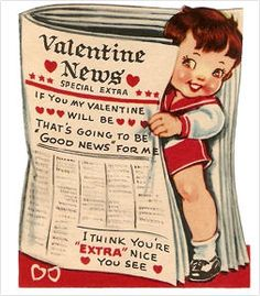 Mechanical and Vintage Paper Doll Valentines Free Printable