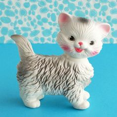 Vintage Edward Mobley Squeaky Cat by plaidponyvintage, via Flickr