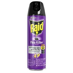 Raid Flea Killer for Home and Dogs 16 Ounce 6 Pack -- Click image to review more details.(This is an Amazon affiliate link and I receive a commission for the sales)