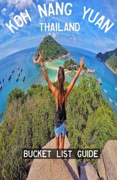Koh Nang Yuan is a small island about minute long tail boat ride from Koh Tao, at the Central Gulf Coast of Southern Thailand. Image Fashion, Book Corners, Top Place, Group Travel, Koh Tao, Small Island, Travel Memories, Yoga Retreat, Backpacker