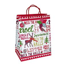 Christmas Slogans Medium Bag