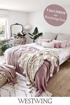 Boho Bedroom Decor, Home Bedroom, Camas King, Bedroom Hacks, Home Comforts, Room Planning, My New Room, Interior Design, Home Decor
