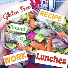 Gluten Free Recipe Round Up: Lunches for Work