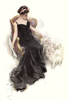 Bachelor Belles with illustrations by Harrison Fisher, 1908