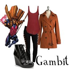"""Gambit"" by companionclothes on Polyvore"