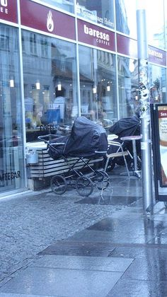 Aarhus - just leave the baby carriage outside - we dont mind :-)
