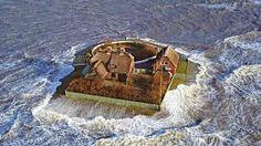 Bildergebnis für hooge sturmflut Boat, North Sea, Weather, Wednesday, Funny, Dinghy, Boats, Ship