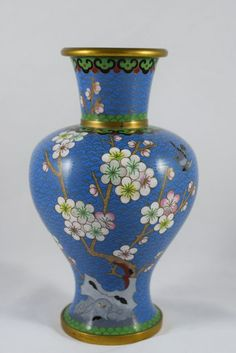 Liberal Chinese Cloisonne Small Round Trinket Pot Other Asian Antiques