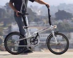 Btwin Tilt, le vélo pliant de Décathlon