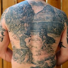36 Cowboy Tattoos With Memorial and Mystique Meanings ...