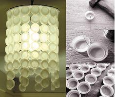 HOW TO MAKE A LIGHT PLASTIC BOTTLE CAPS