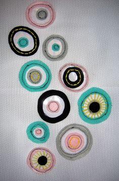 Natalie Horton's stitched cells Textiles Sketchbook, Human Body Art, Petri Dish, Textiles Techniques, Collaborative Art, Patterns In Nature, Book Crafts, Textile Art, Decay
