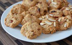 Vollwertige Hafer-Dinkel-Kekse ohne Ei