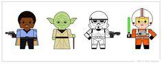 star_wars_characters_ii__vector_by_goobeetsa-dIY-Jedi_Birthday.jpg (500×200)