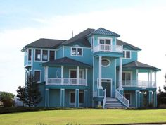 turquoise houses - Google Search