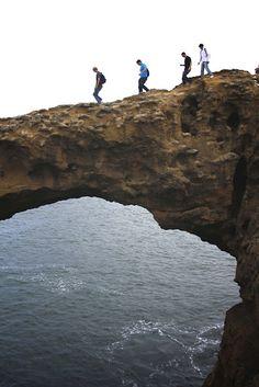 """Taking the High Road,"" Nick Frank. ISA San Sebastián. Biarritz, France. Spain Study Abroad."