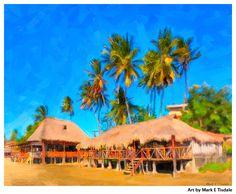 Tropical Paradise Art – San Juan Del Sur Nicaragua