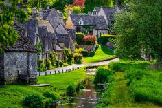 Get lost in Bibury – the most beautiful ancient village in England.