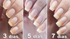 Aprenda a usar bicarbonato de sódio para ter unhas mais longas e fortes – DICA Hard Nails, My Nails, Nail Growth Faster, Almond Oil Uses, How To Grow Nails, Strong Nails, Natural Nails, You Nailed It, Home Remedies