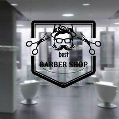 Wall Decal Vinyl Sticker Art Decor Hairdressing Hair Salon Style Beauty Barber Shop Cuts Beard Inscription Shaver Scissors Signboard Men (M1500) DecorWallDecals http://www.amazon.com/dp/B00VETIHNS/ref=cm_sw_r_pi_dp_GIzgvb1AM3KK8